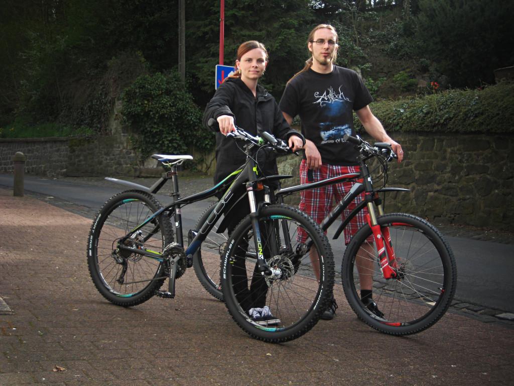 Unsere neuen Bikes