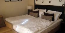 Unser Ehebett für eine Nacht