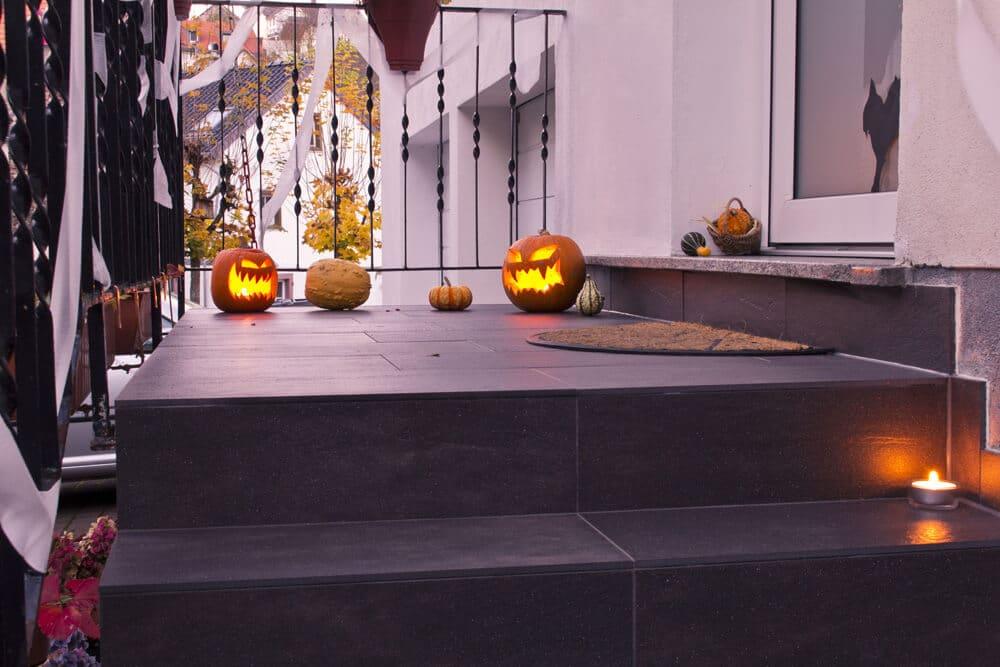 Halloween fiese Kürbisse