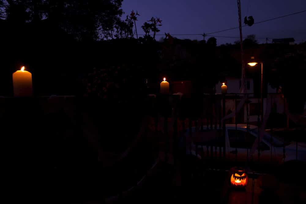 Halloween Kerzen