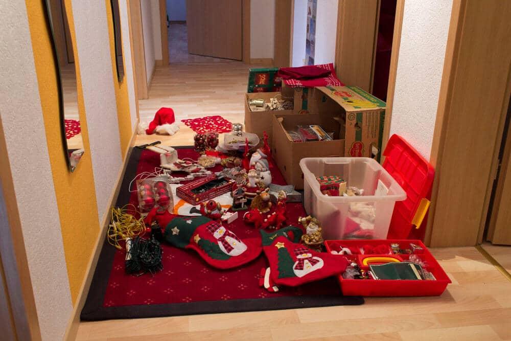 Weihnachtsdeko - Der (Ur-)Knall