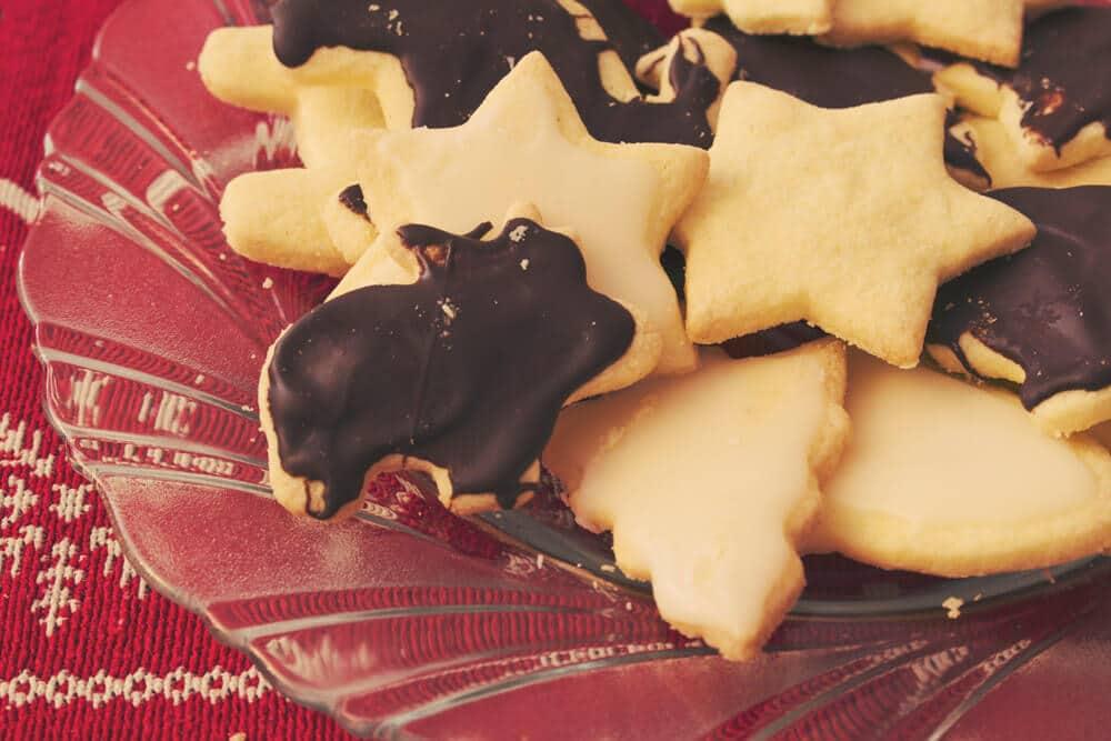 glutenfreie und laktosefreie Weihnachtsplätzchen