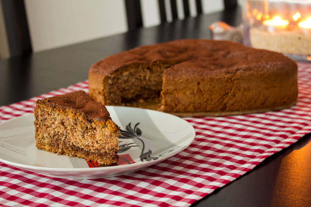 glutenfreier und laktosefreier Rührkuchen