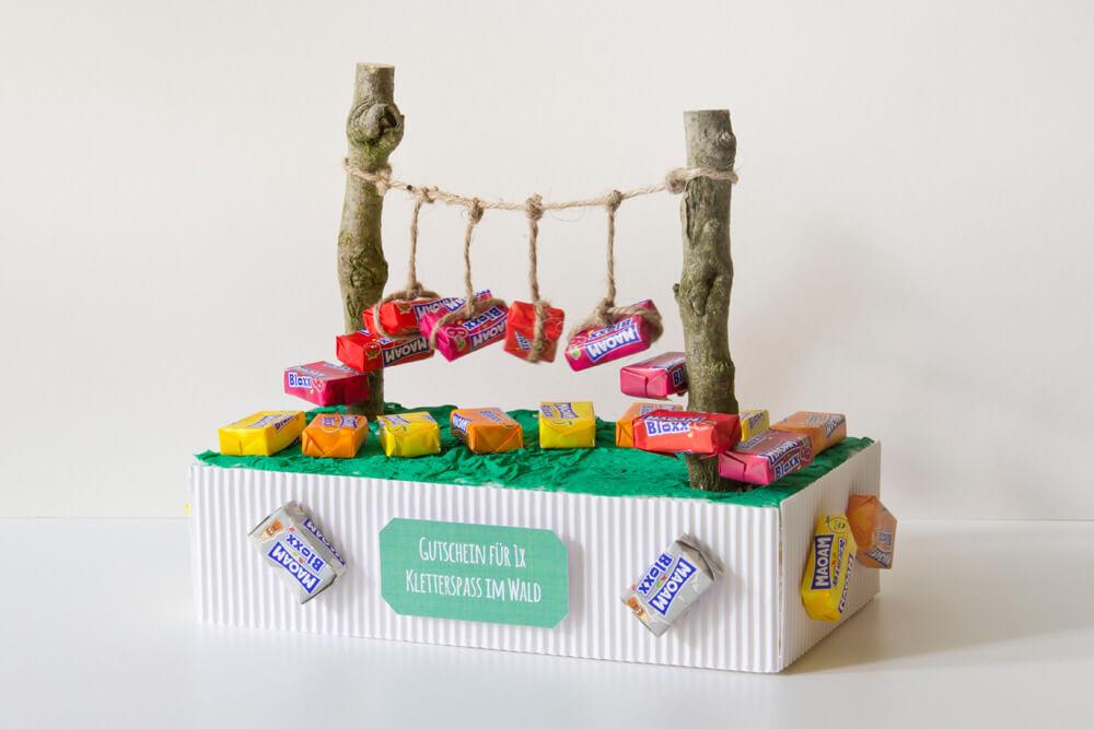 geschenke aus süßigkeiten